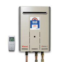 RINNAI Continuous Flow INFINITY 26 TOUCH Free Wireless Temperature Control NG 50C